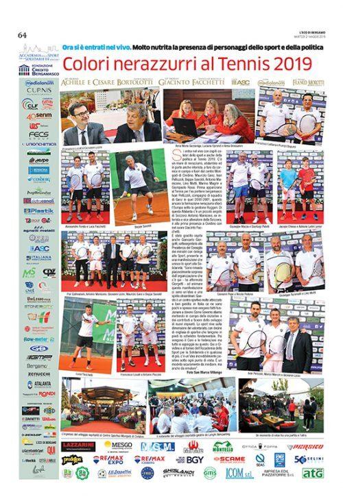 Taramelli al Tennis 2019